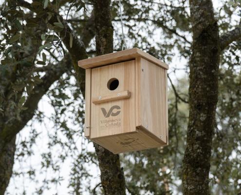 Cajas nido en Villanueva de la Cañada