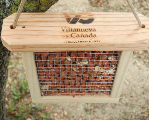 Taller de comederos para aves - Villanueva de la Cañada